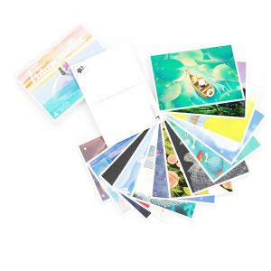 deep pictures 'Dreamland' – 52 illustration postcards for mapping your ideal self through your dreams